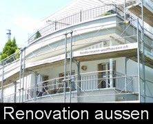 Renovation Maler aussen - Hintermann Wolfhausen AG